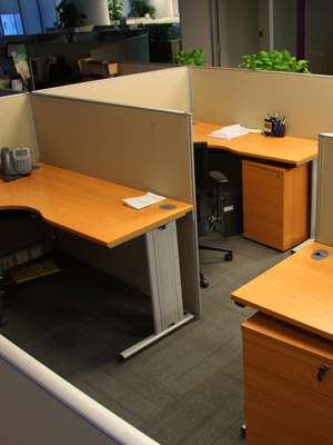 office cubicles and systems